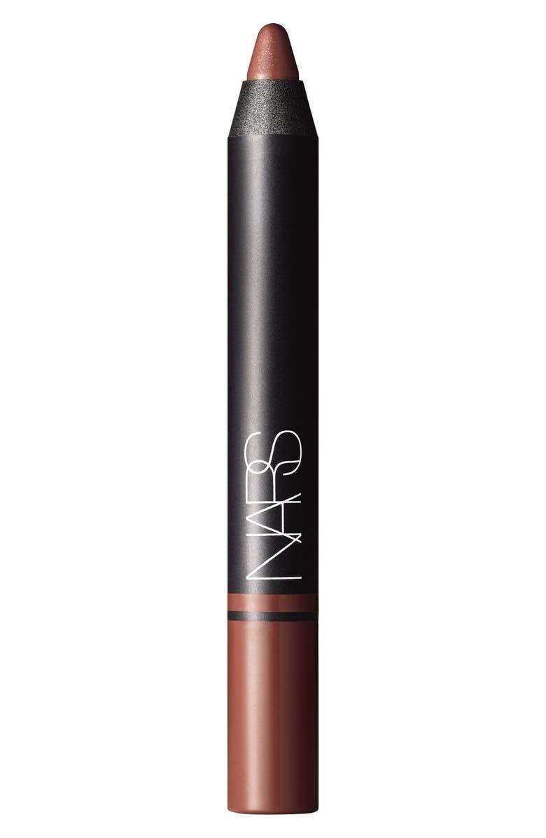 NARS Satin Lip Pencil, Main, color, BANSAR
