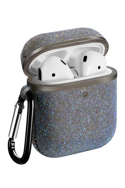 Image of POSH TECH Glitter Bling Case for Airpods 1 & 2 - Black