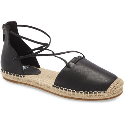 Eileen Fisher Lace Espadrille, Black