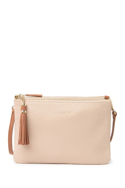 Image of Lancaster Paris Mademoiselle Estelly Leather Convertible Clutch