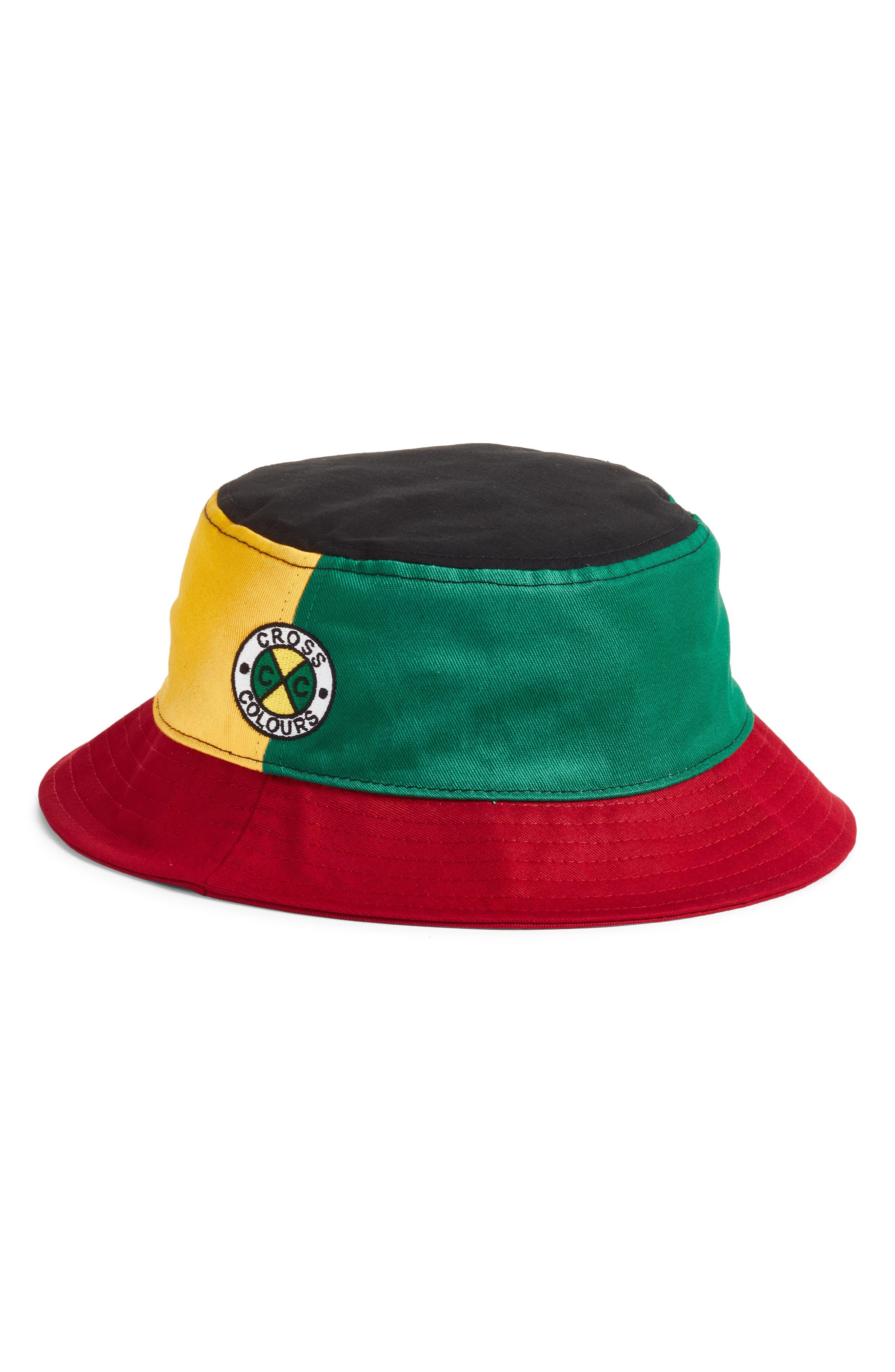 Colorblock Bucket Hat