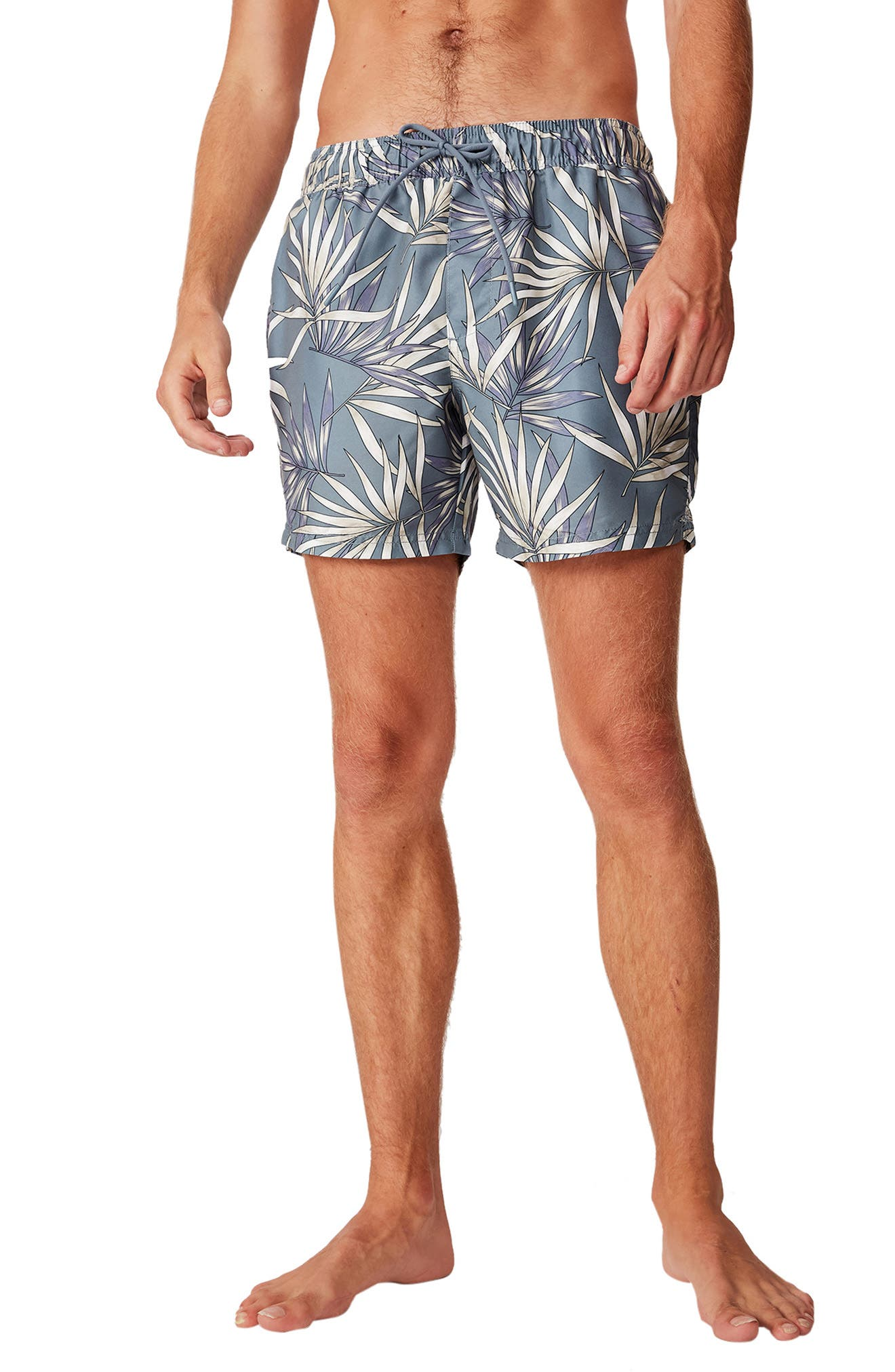 Image of Cotton On Palm Frond Swim Trunks