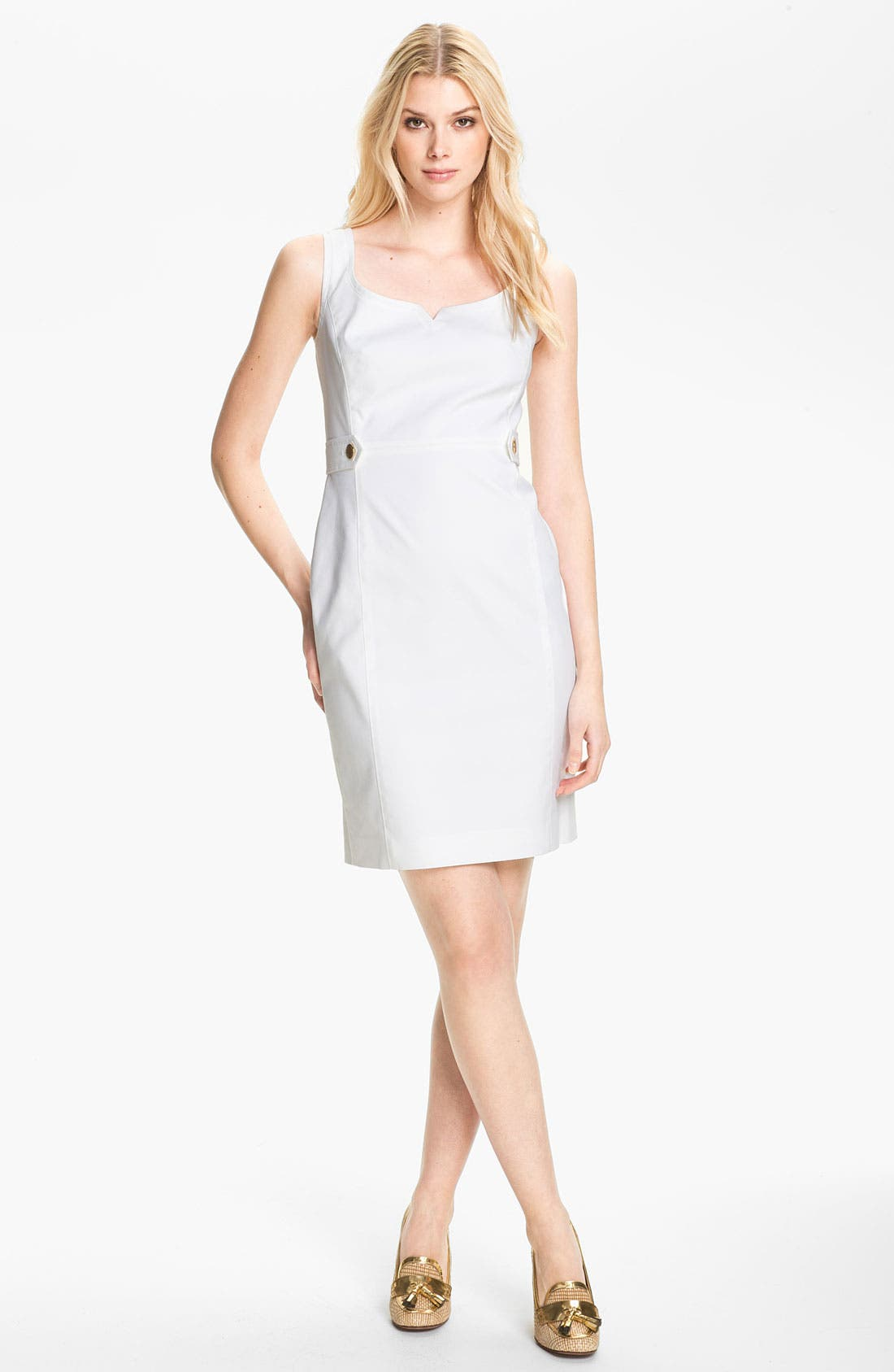 ,                             'Tayler' Stretch Sheath Dress,                             Main thumbnail 1, color,                             100