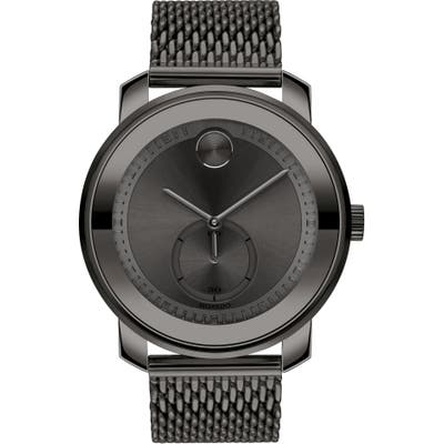 Movado Bold Mesh Bracelet Watch, 45Mm