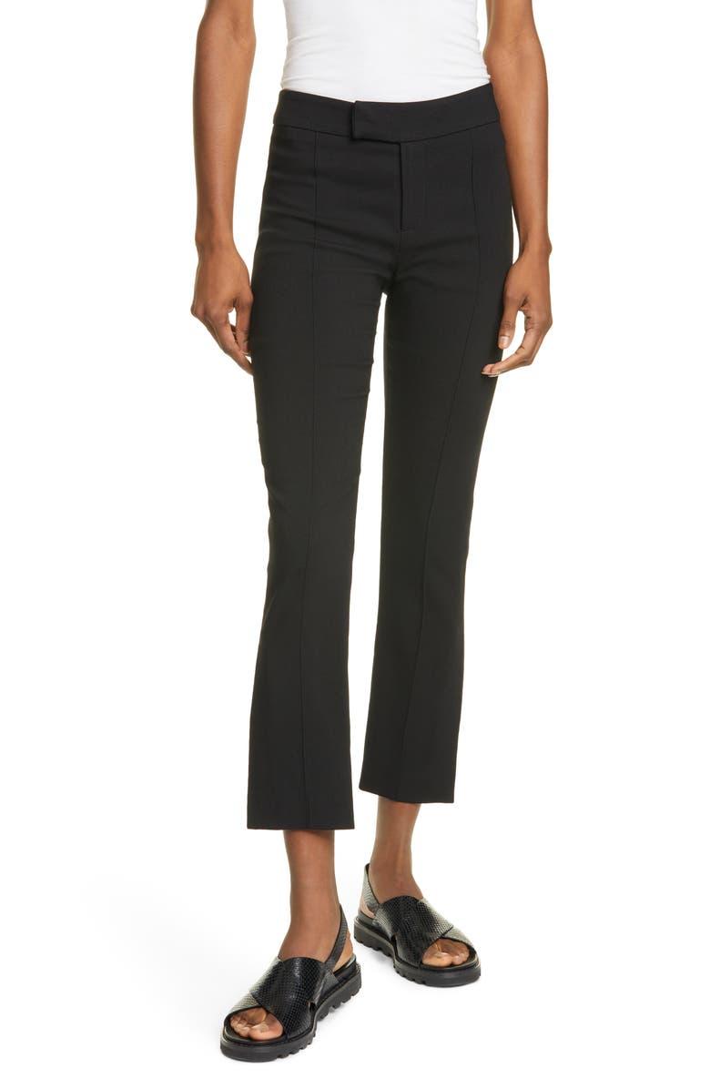 SMYTHE Stovepipe Pants, Main, color, BLACK