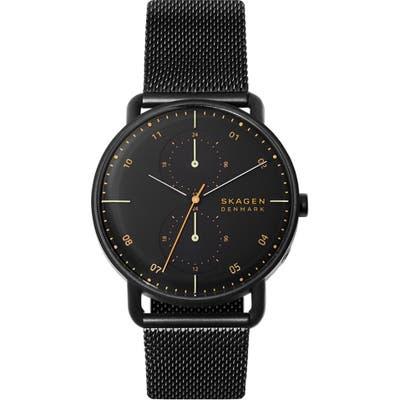 Skagen Horizont Multifunction Mesh Strap Watch, 42Mm