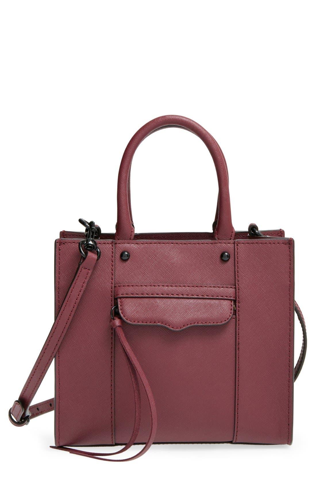 ,                             'Mini MAB Tote' Crossbody Bag,                             Main thumbnail 147, color,                             930