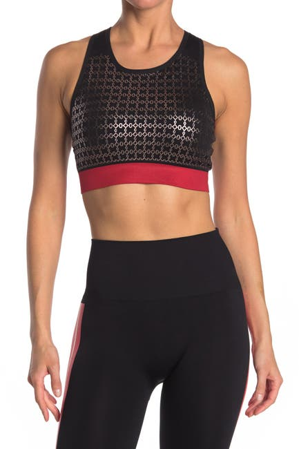 Image of Max Studio Racerback Seamless Sports Bra