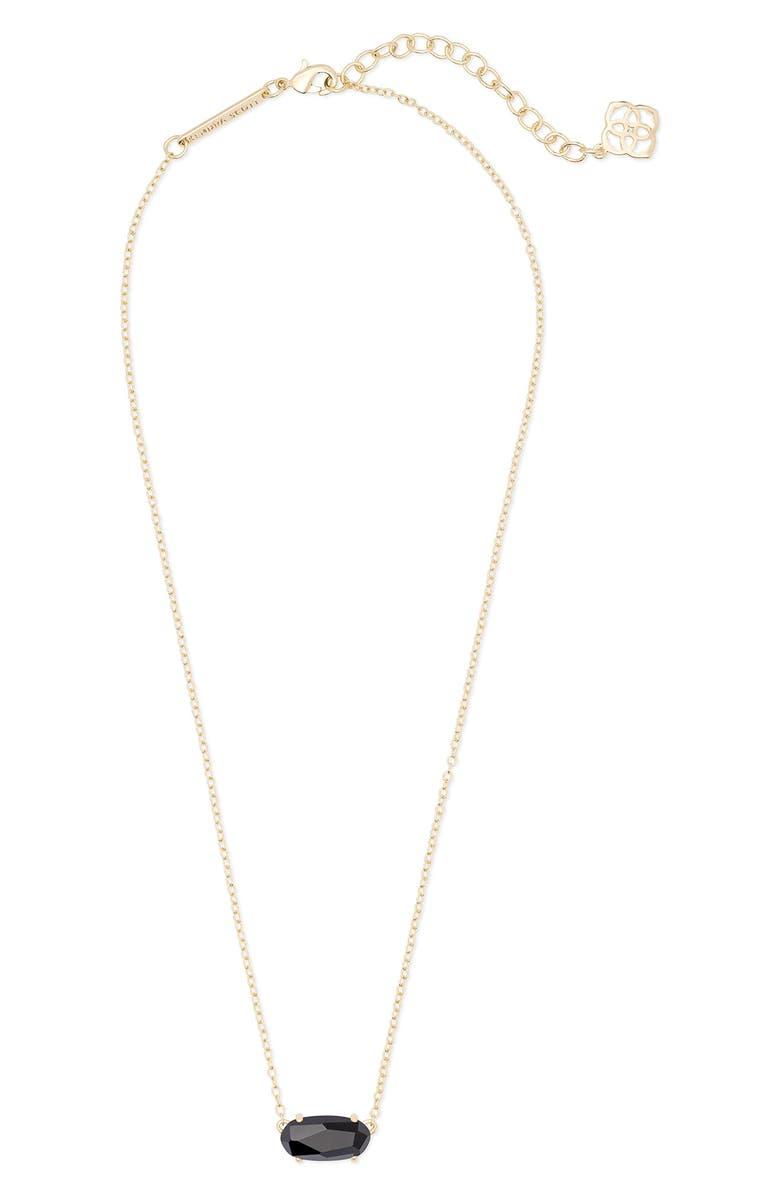 KENDRA SCOTT Ever Pendant Necklace, Main, color, 001