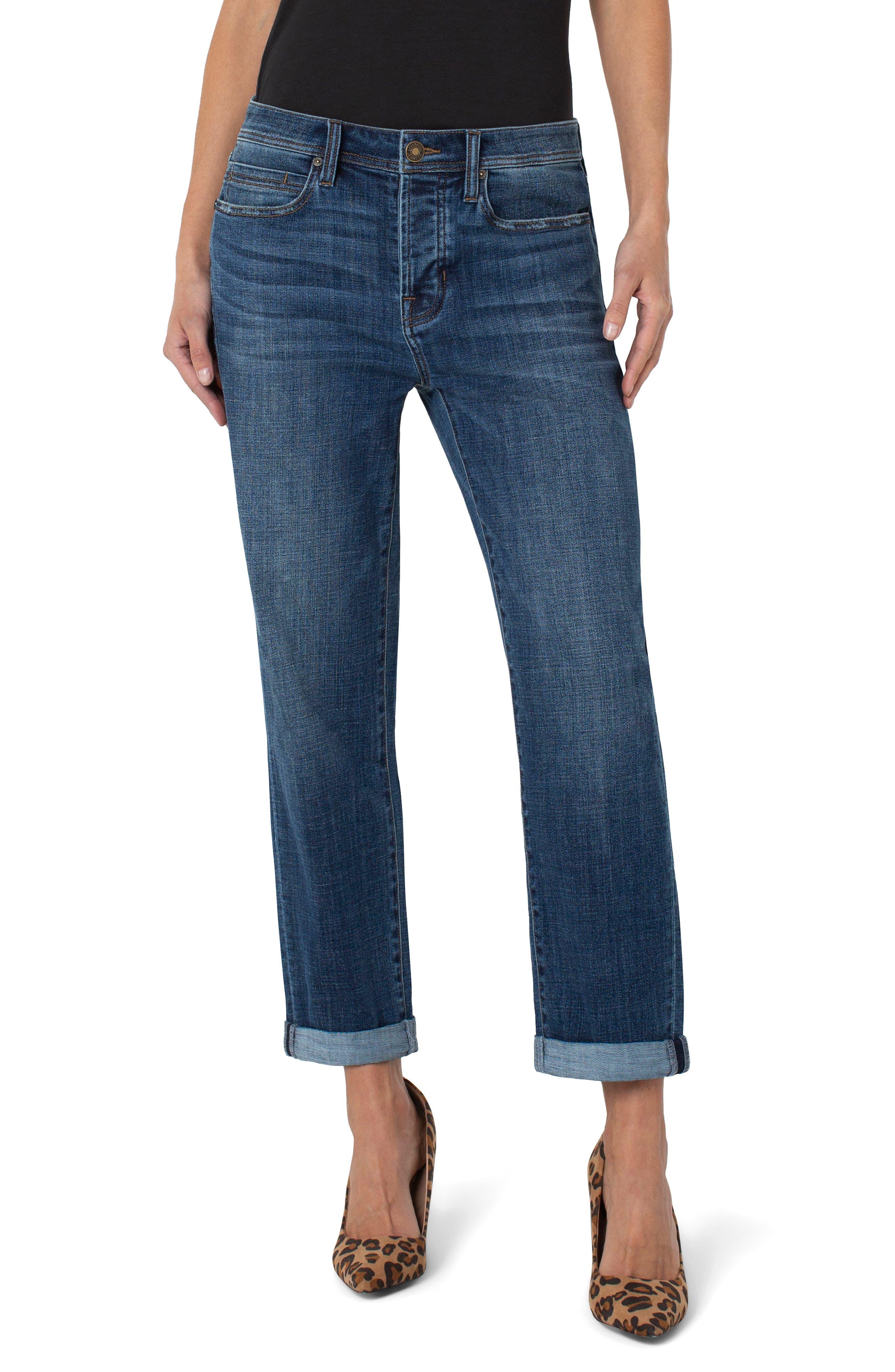 The Real Boyfriend Roll Cuff Jeans