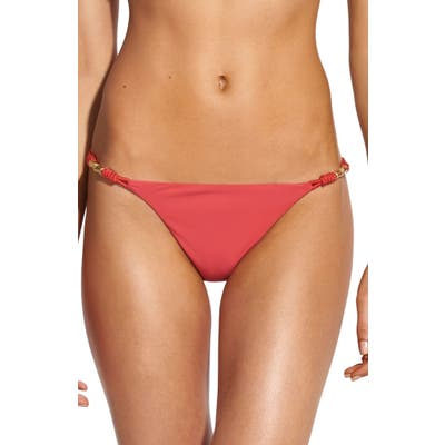 Vix Swimwear Watermelon Trim Bikini Bottoms, Pink