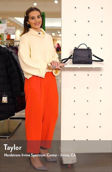 Mini Allegro Calfskin Leather Tote, sales video thumbnail