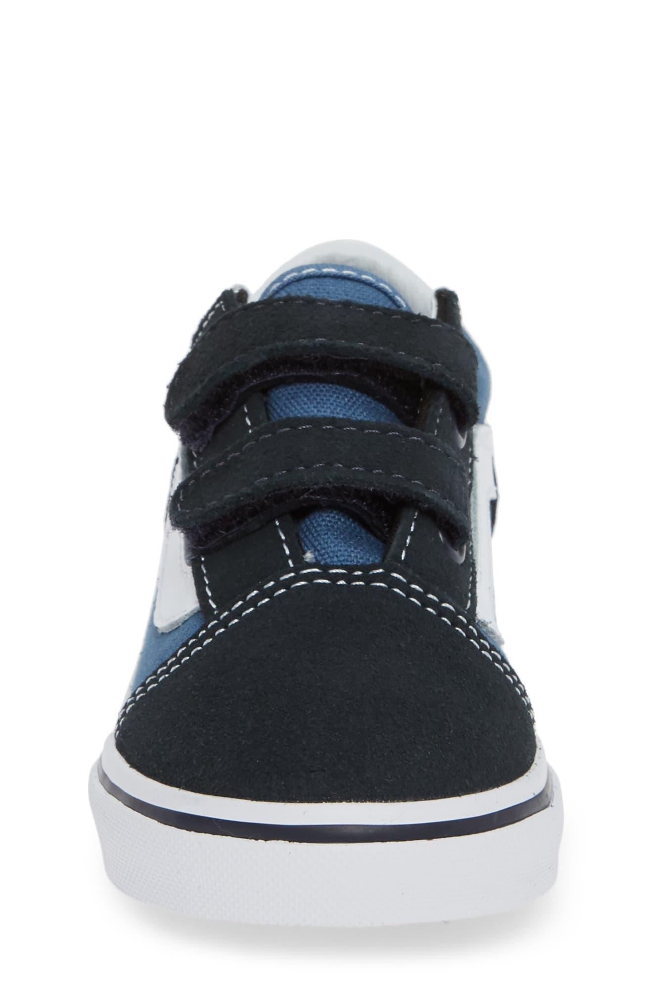 ,                             'Old Skool' Sneaker,                             Alternate thumbnail 4, color,                             NAVY