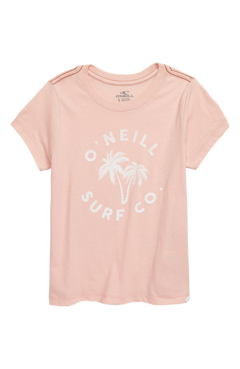 O'NEILL Townie Tee, Main, color, BLUSH