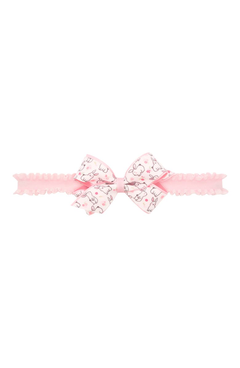 PLH BOWS Easter Print Bow Head Wrap, Main, color, 640