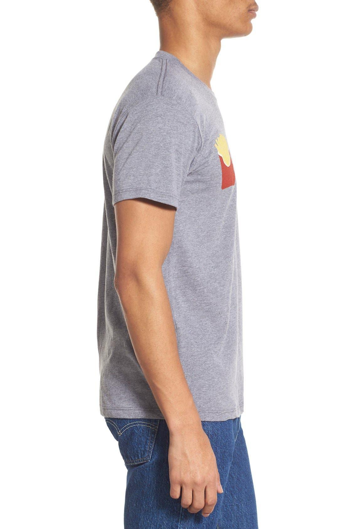 ,                             'Fry Day' Crewneck T-Shirt,                             Alternate thumbnail 10, color,                             020