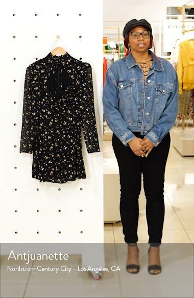 Vivianne Long Sleeve Minidress, sales video thumbnail
