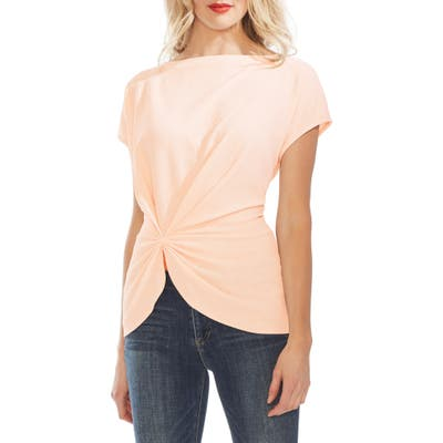 Vince Camuto Side Cinch Top, Pink