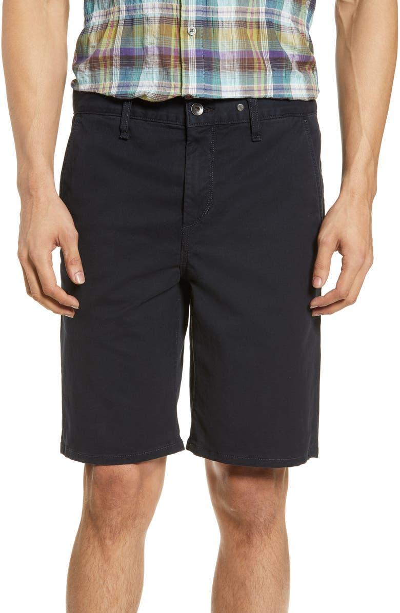 RAG & BONE Classic Chino Shorts, Main, color, NAVY