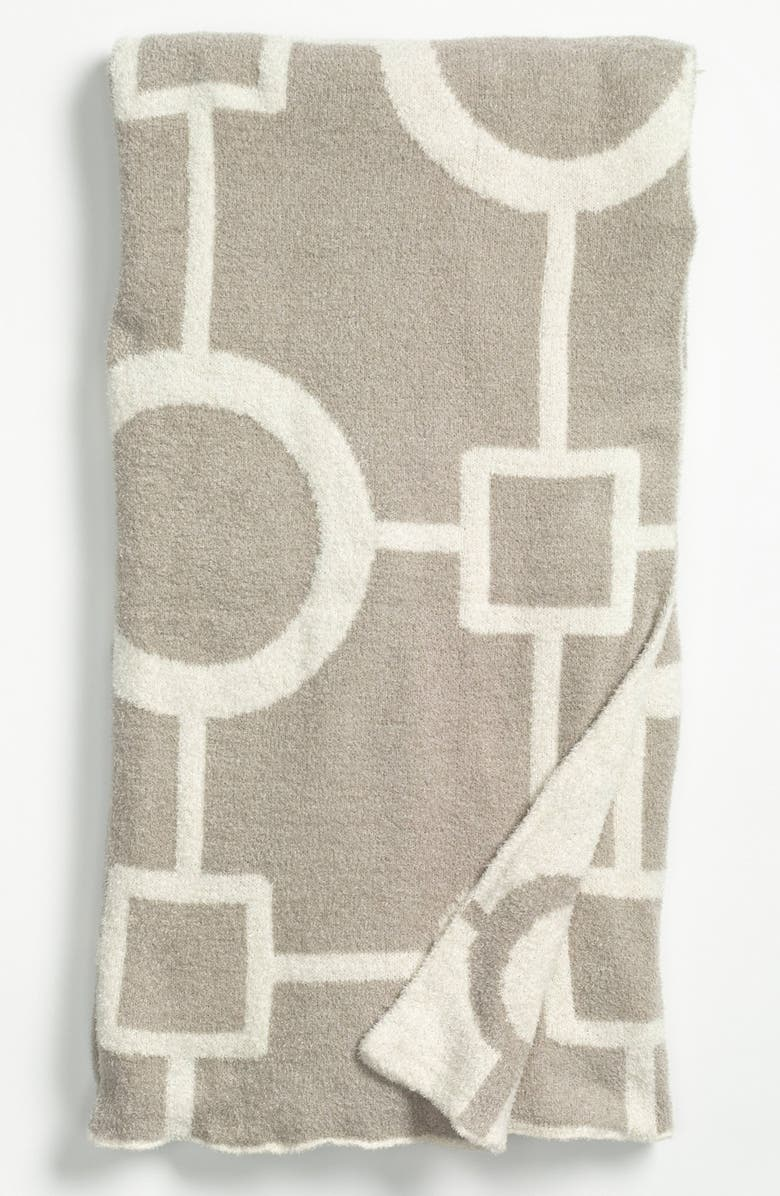GIRAFFE AT HOME 'Matrix Dolce' Throw, Main, color, FLAX