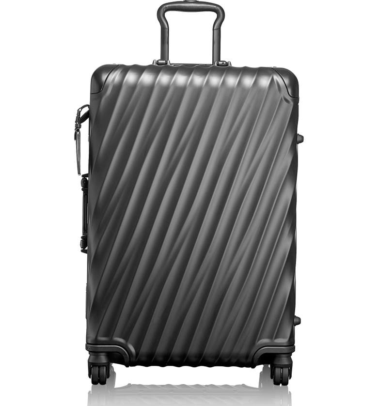 TUMI 19 Degree 26-Inch Short Trip Wheeled Packing Case, Main, color, MATTE BLACK