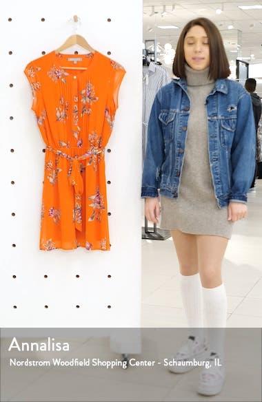 Pleat Front Minidress, sales video thumbnail