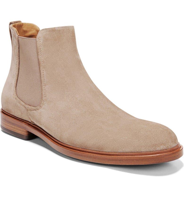VINCE Burroughs Chelsea Boot, Main, color, FLINT