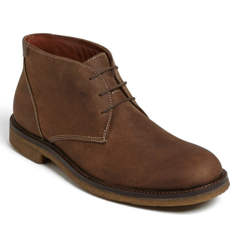 JOHNSTON & MURPHY 'Copeland' Suede Chukka Boot, Main, color, TAN