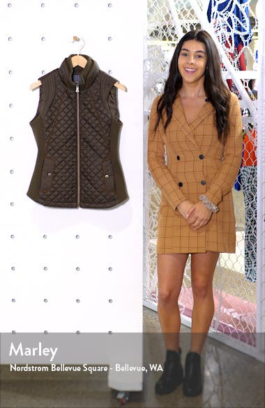 Knit Side Quilted Vest, sales video thumbnail