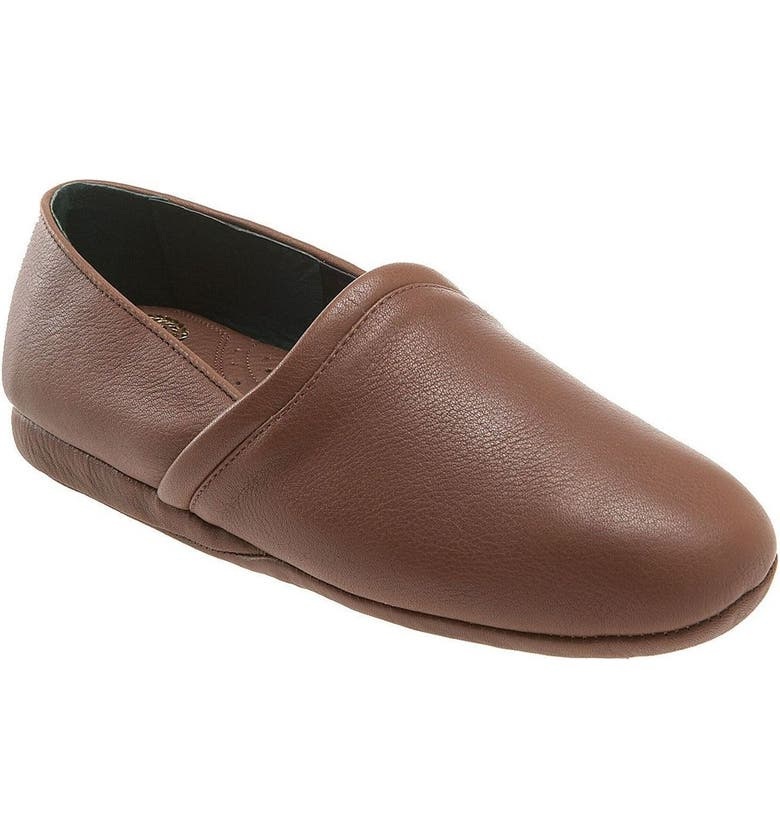 L.B. EVANS 'Aristocrat Opera' Slip-On, Main, color, BROWN