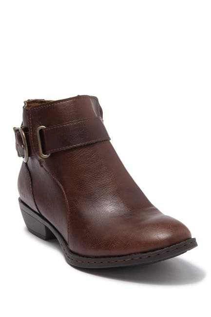 Image of B.O.C. BY BORN Cloud Buckle Strap Ankle Boot