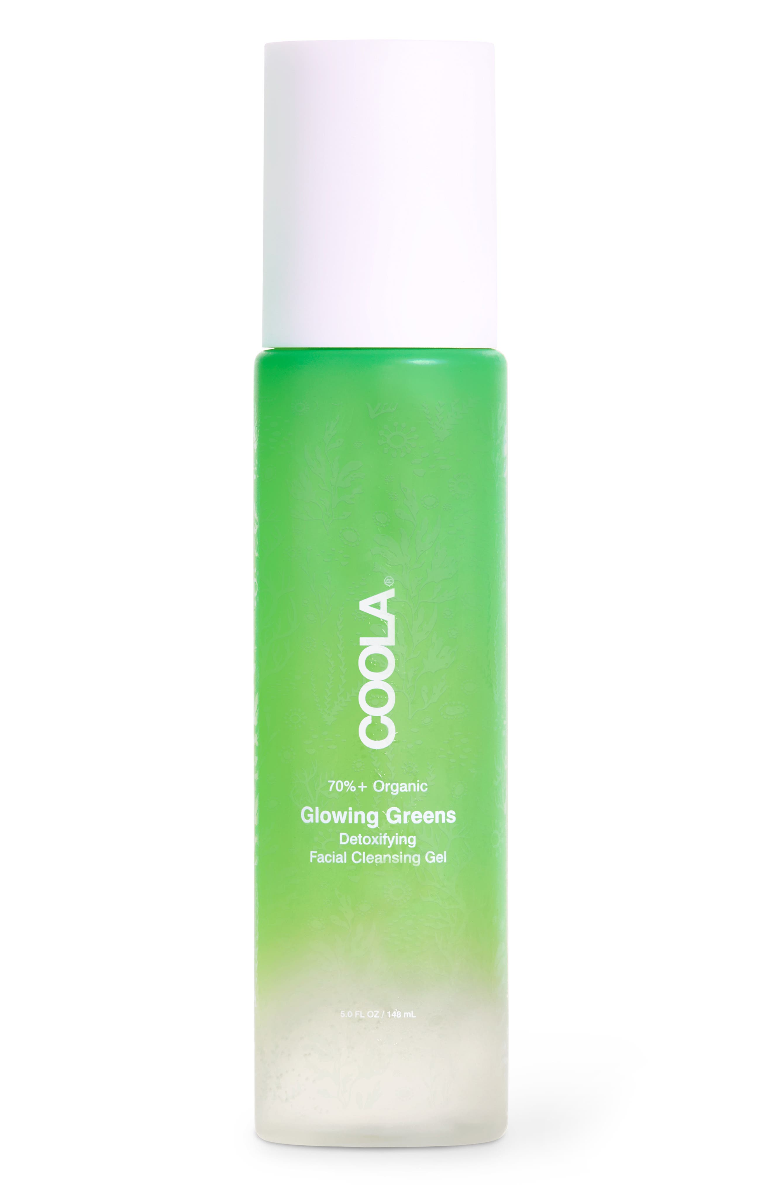 Coola Glowing Greens Detoxifying Facial Cleanser