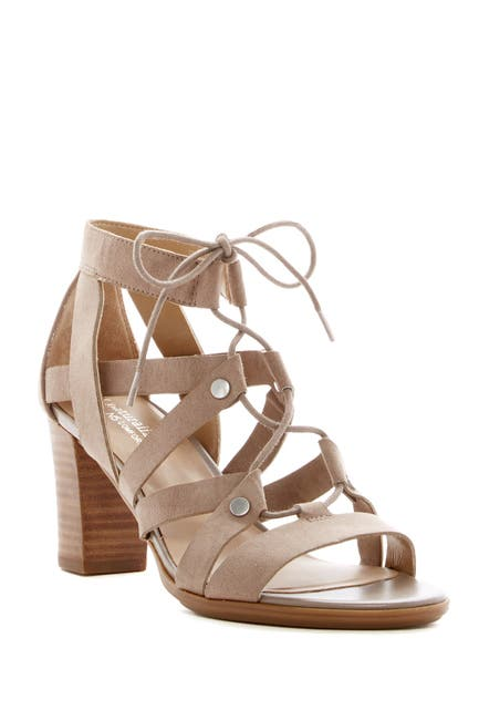 Image of Naturalizer London Strappy Block Heel Sandal - Wide Width Available