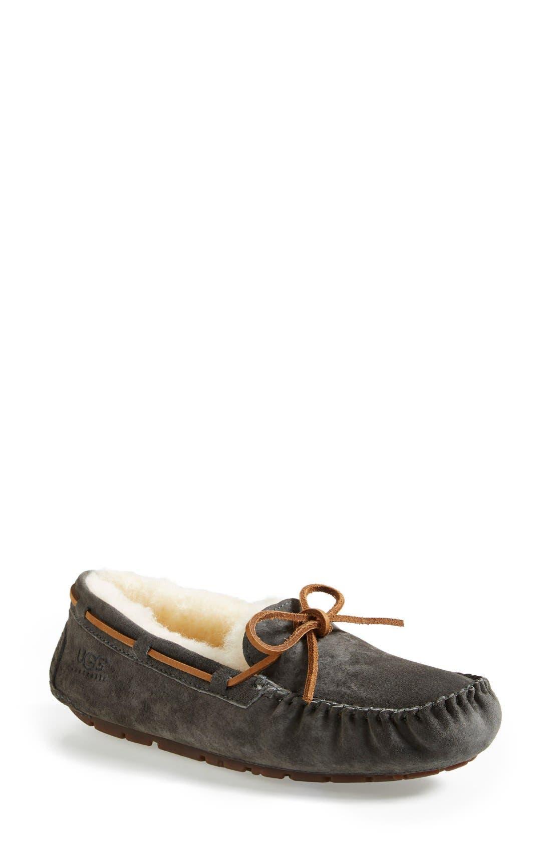 Dakota Water Resistant Slipper, Main, color, 020
