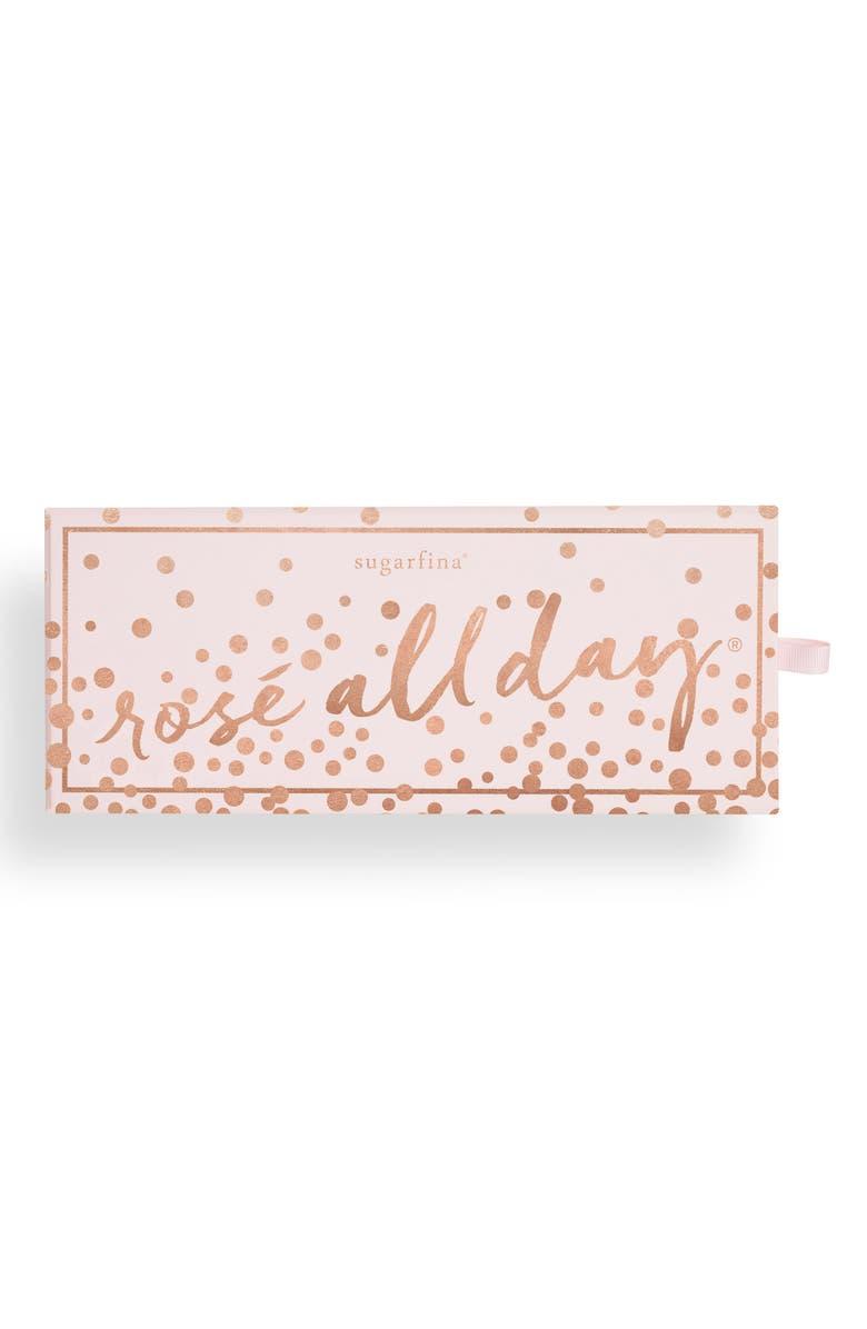 SUGARFINA Rosé 3-Piece Candy Bento Box, Main, color, 650