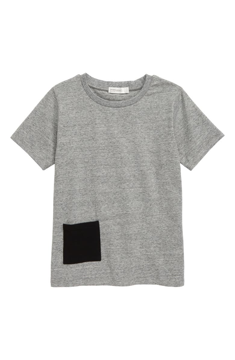 MILES baby Contrast Pocket T-Shirt, Main, color, 029