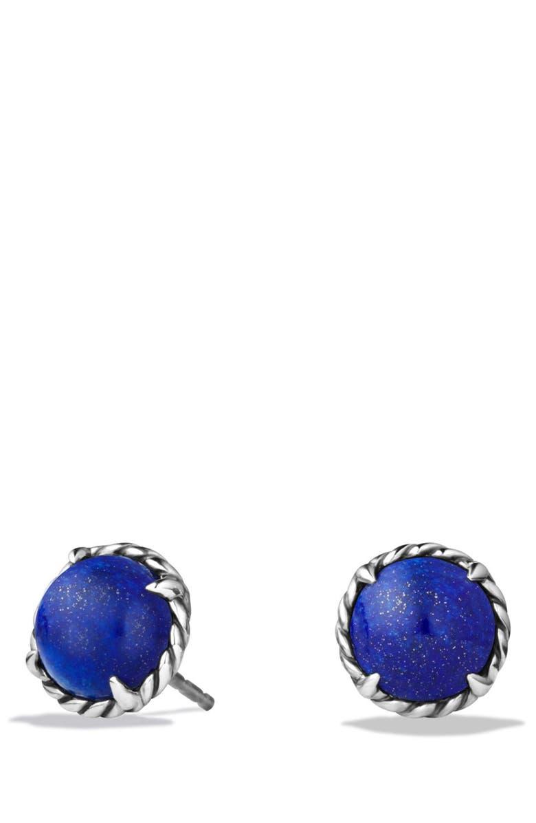 DAVID YURMAN 'Châtelaine' Earrings, Main, color, LAPIS LAZULI