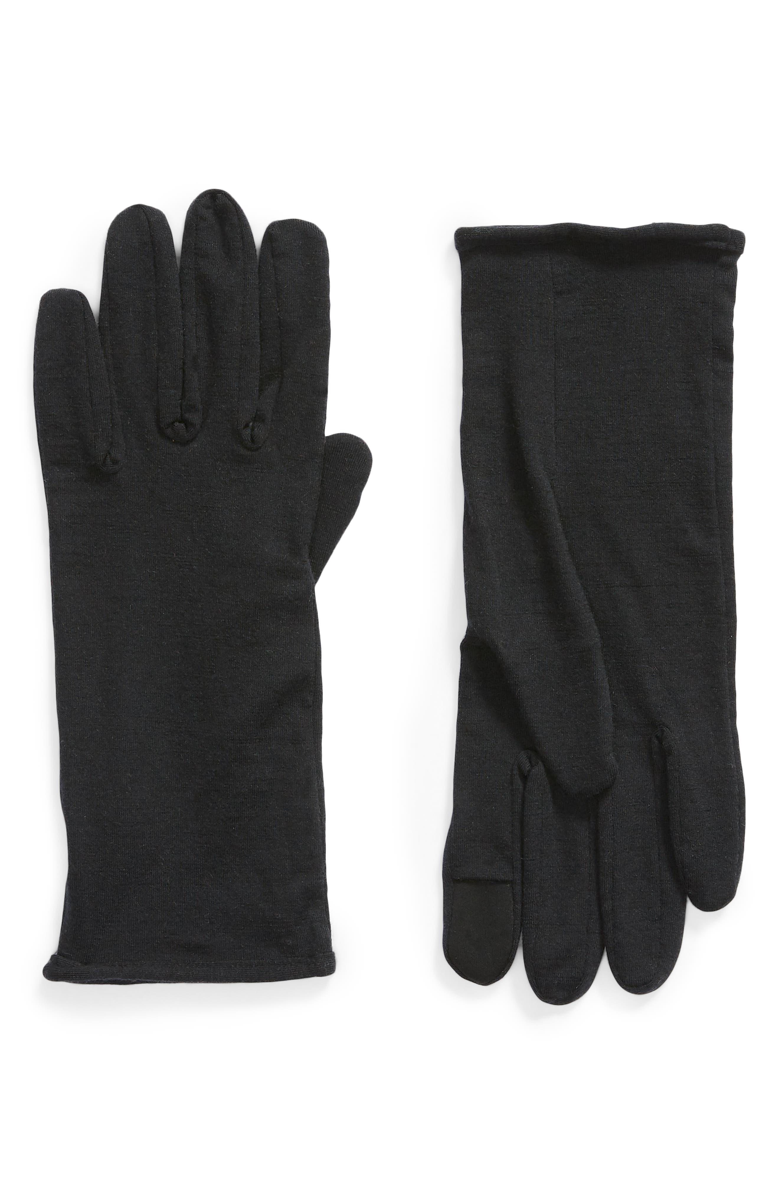 260 Tech Touchscreen Compatible Merino Wool Glove Liners