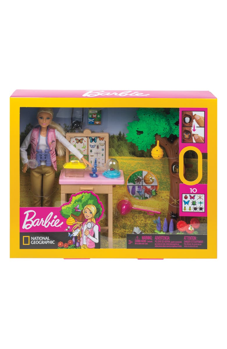 MATTEL Barbie<sup>®</sup> National Geographic Entomologist Doll and Playset, Main, color, MULTI