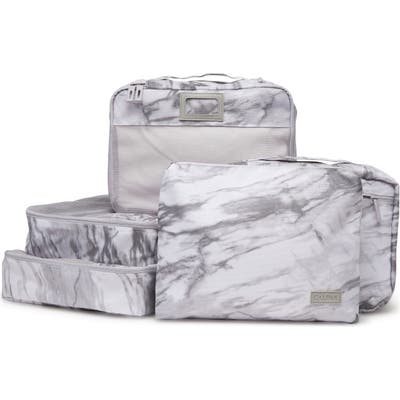 Calpak 5-Piece Packing Cube Set - White