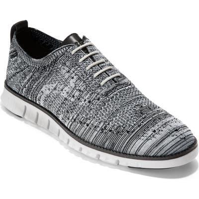 Cole Haan Zerogrand Stitchlite Oxford- Grey