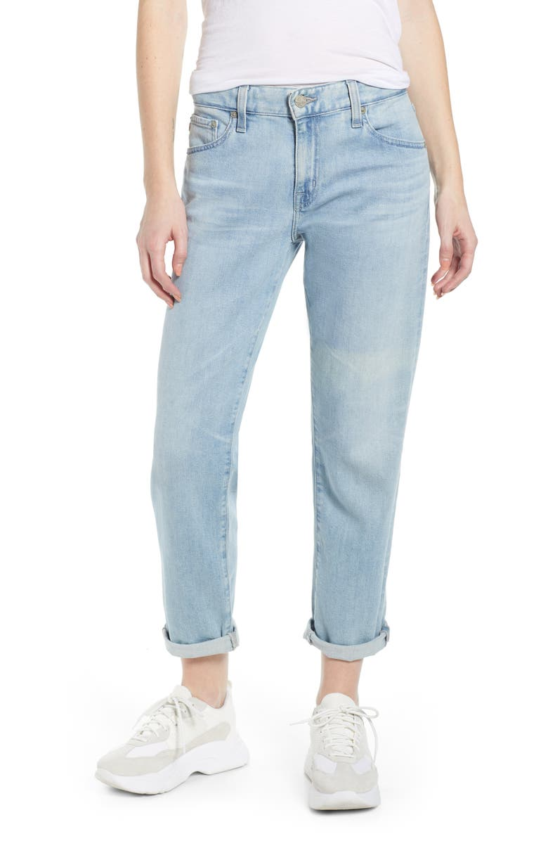 AG The Ex-Boyfriend Slim Jeans, Main, color, 26 YEARS SURGED