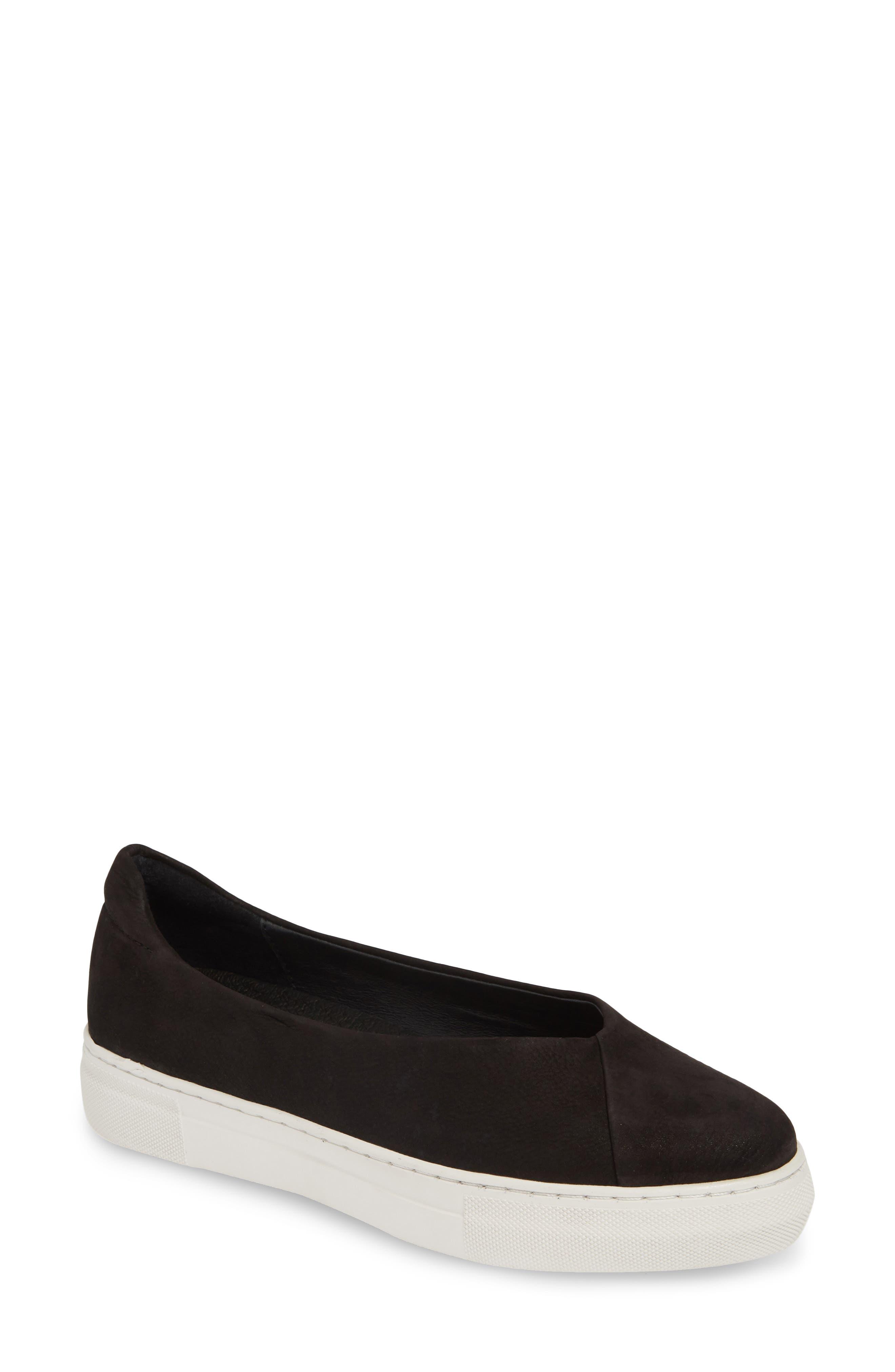 Jslides Felicia Slip-On Sneaker- Black