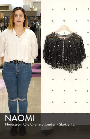 Scallop Beaded Capelet, sales video thumbnail