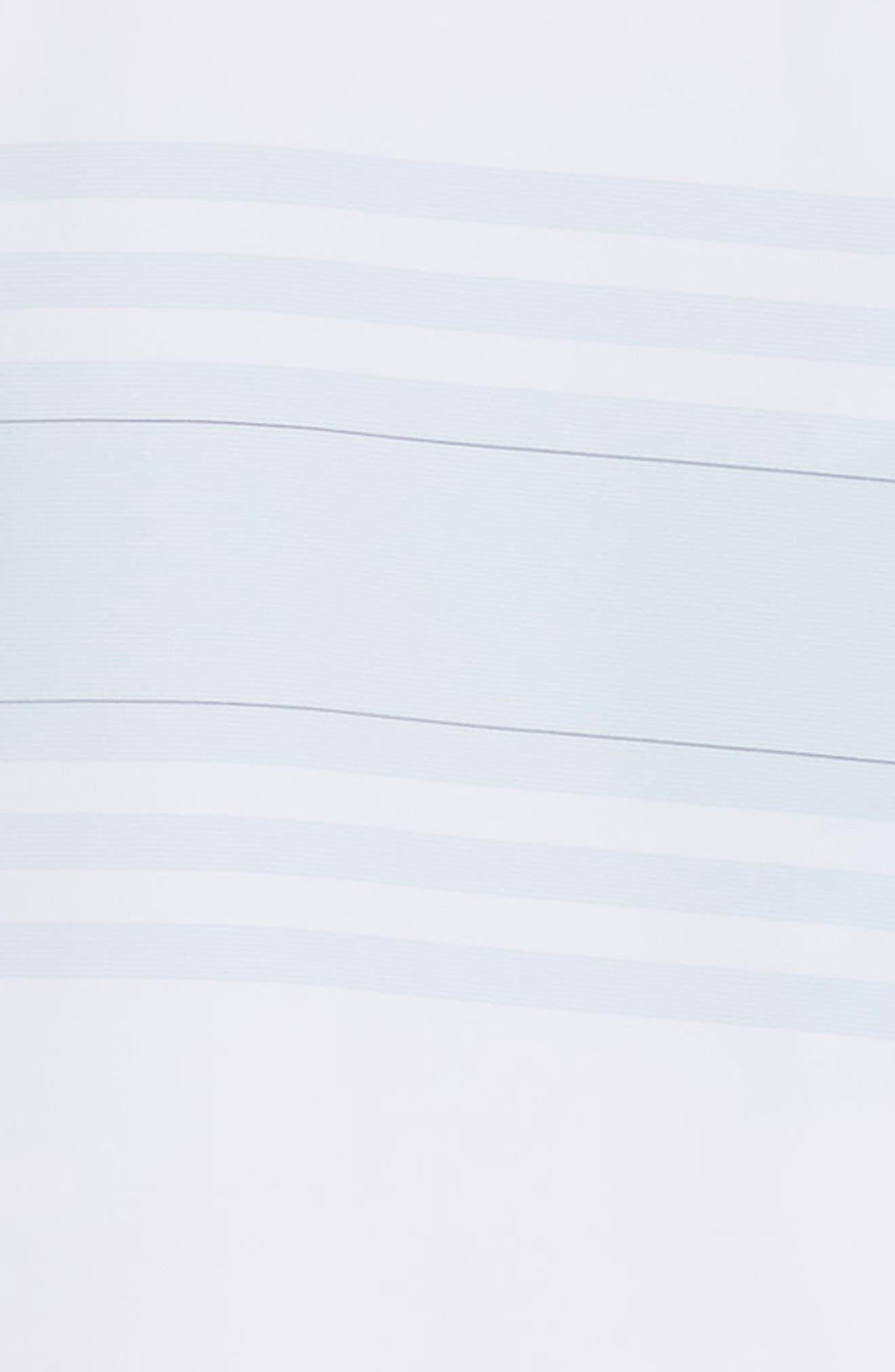 ,                             Weiss Trim Fit Stripe Sport Shirt,                             Alternate thumbnail 6, color,                             WHITE