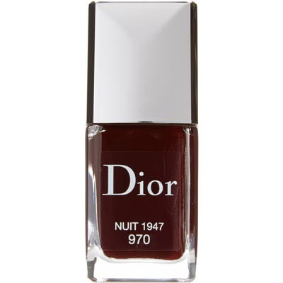 Dior Vernis Gel Shine & Long Wear Nail Lacquer - 970 Nuit 1947