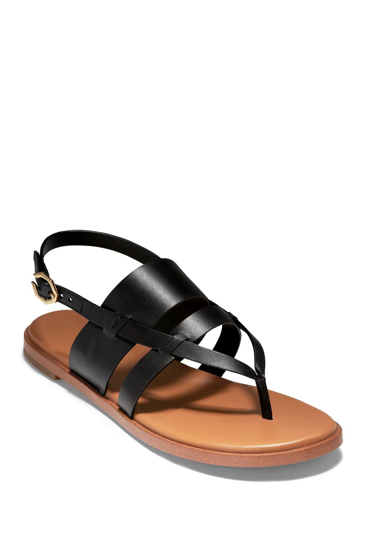 Image of Cole Haan Finley Leather Grand Thong Sandal