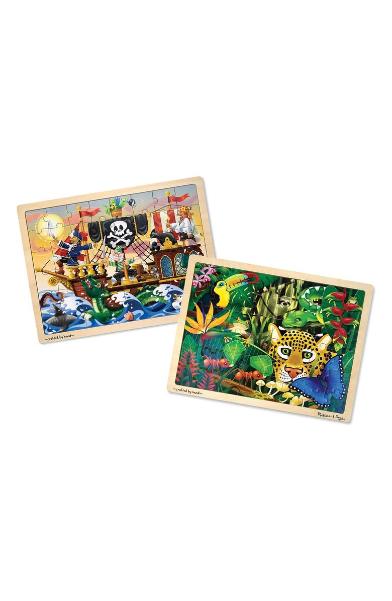 MELISSA & DOUG Jigsaw Puzzles, Main, color, 960