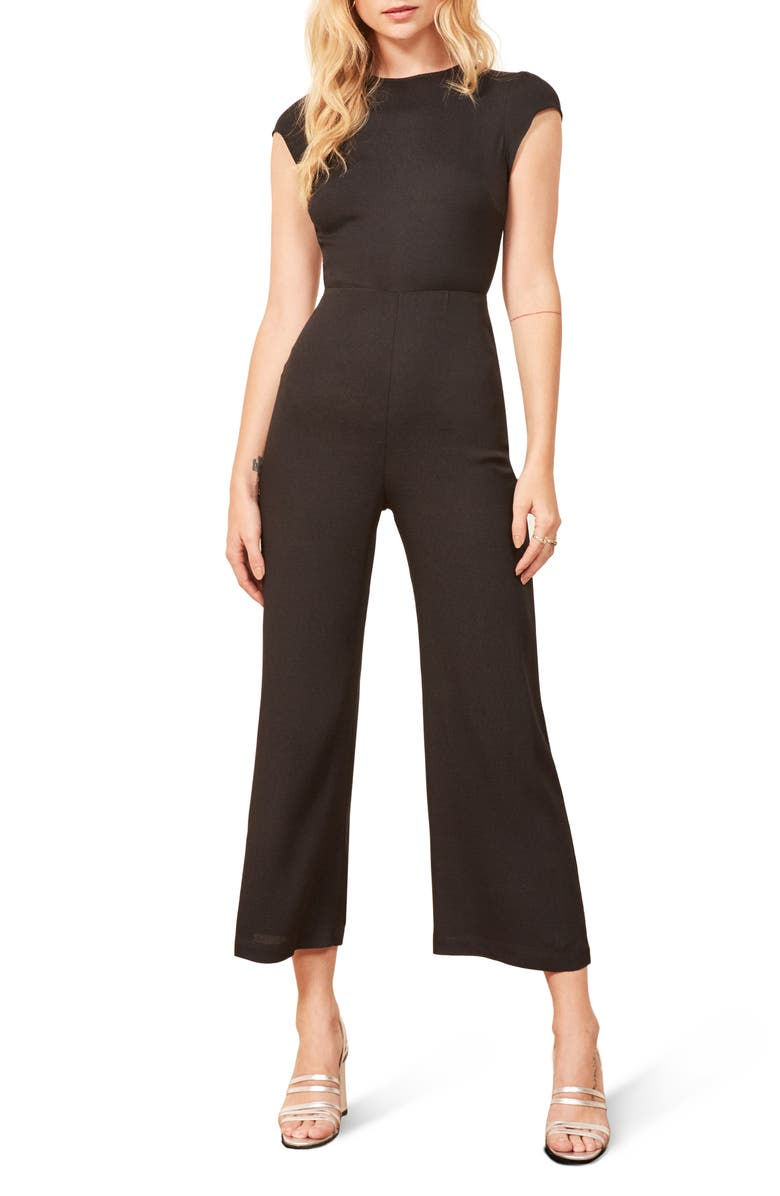REFORMATION Mayer Jumpsuit, Main, color, 001