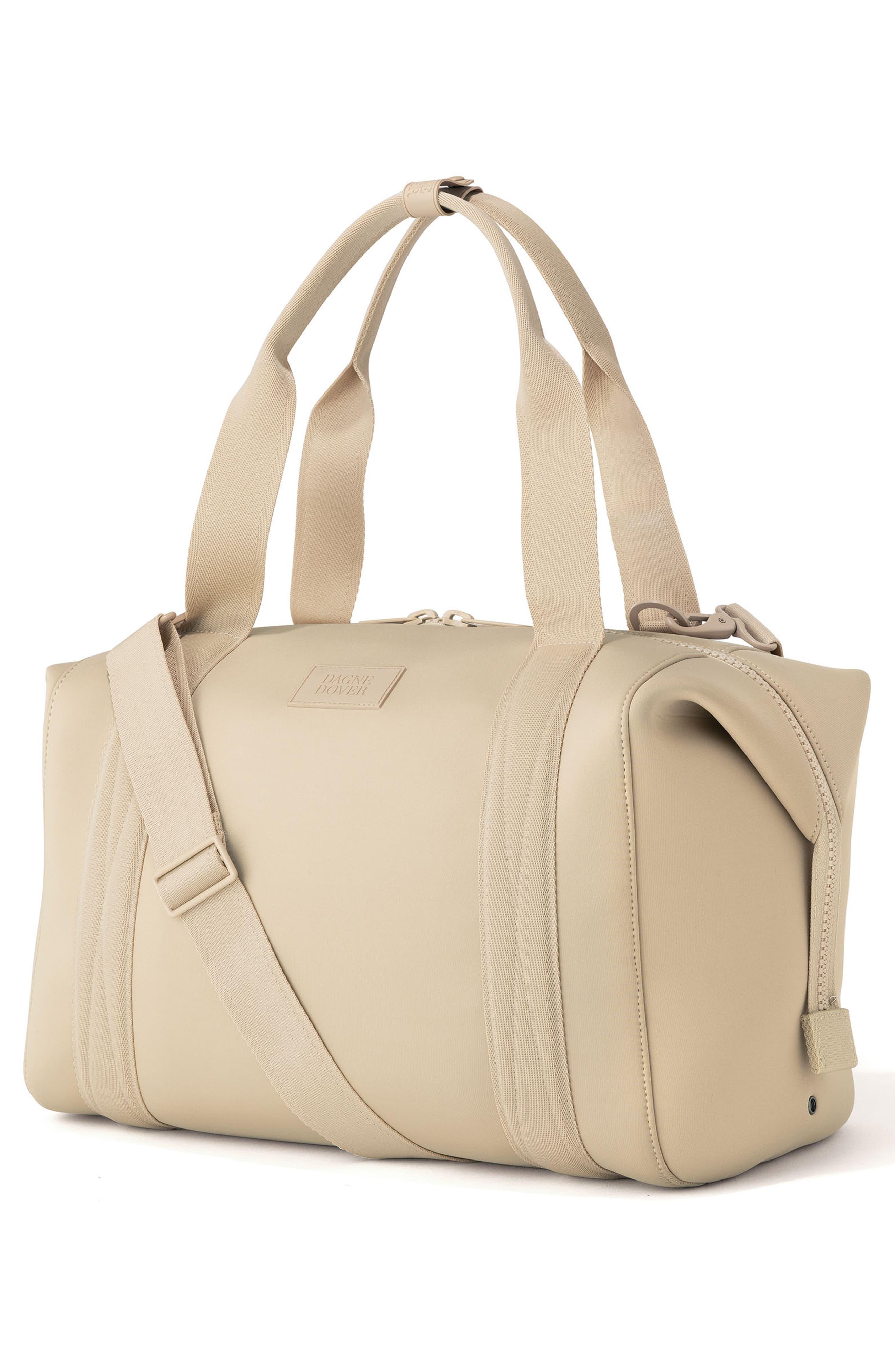 ,                             365 Large Landon Neoprene Carryall Duffle Bag,                             Alternate thumbnail 4, color,                             ALMOND LATTE